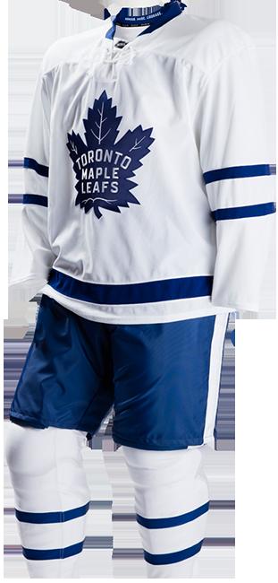 Maple Leafs away jersey.