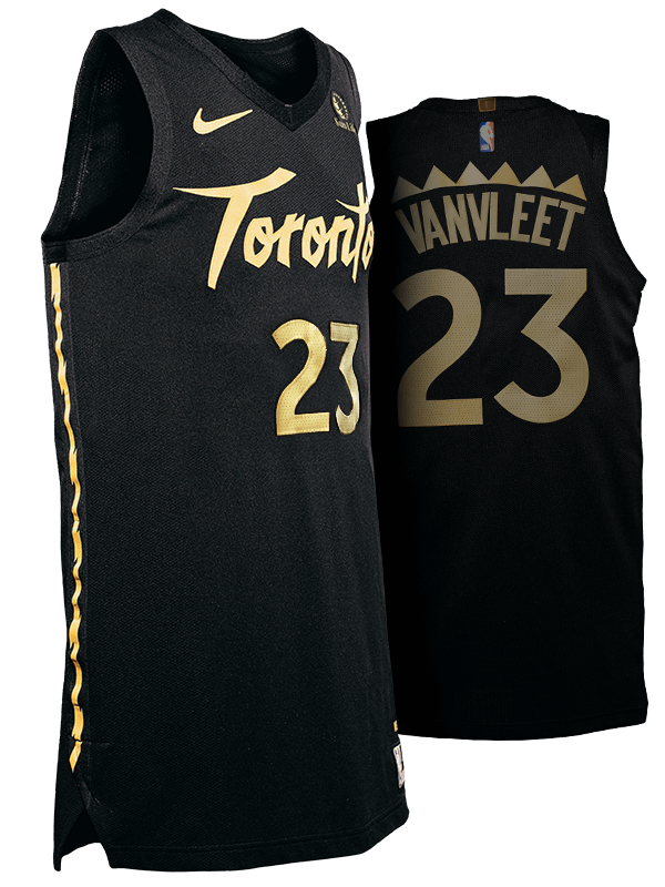 Raptors city jersey view 1