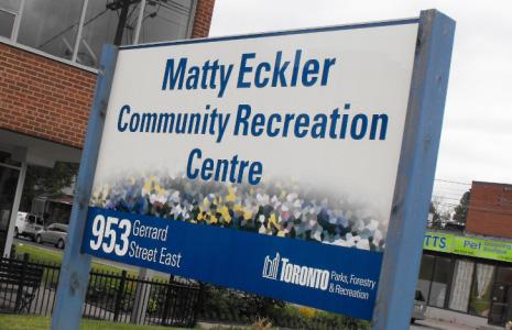 Matty Eckler Community Recreation Centre