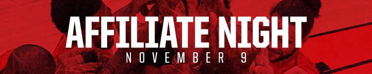 Affiliate Night - November 9