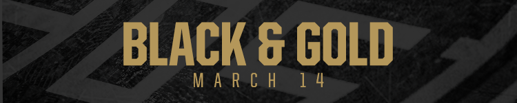 Black and Gold - March 14