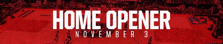 Home Opener - November 3