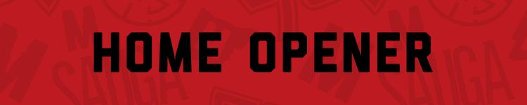 Home Opener - November 8