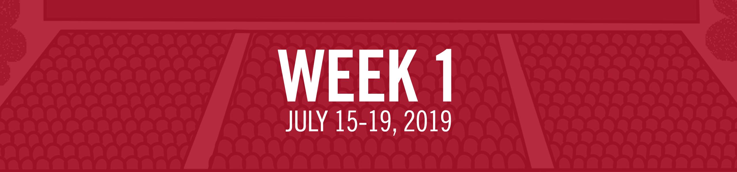 Week 1 Camps