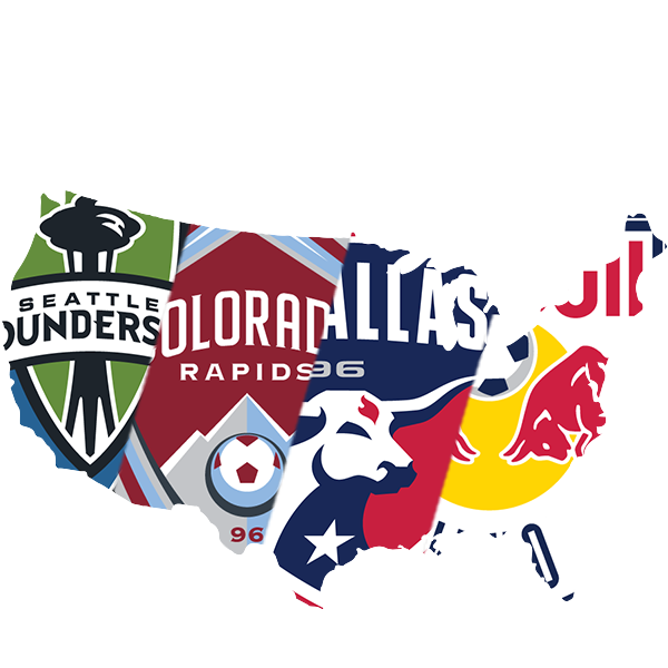 United States of America - Seattle Sounders, Colorado Rapids, FC Dallas, New York Red Bulls