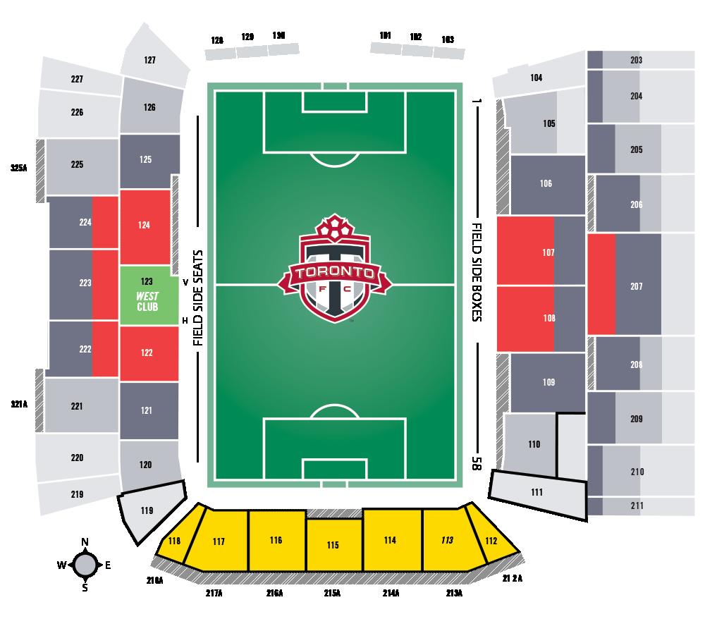 2020 Stadium Map