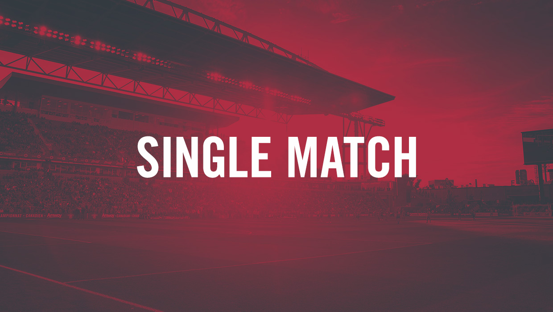Single Match Tickets