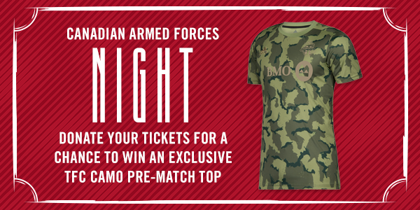 Canadian Armed Forces Appreciation Donations | Toronto FC