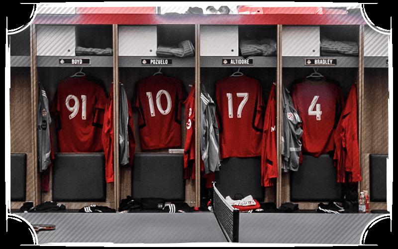 TFC locker room