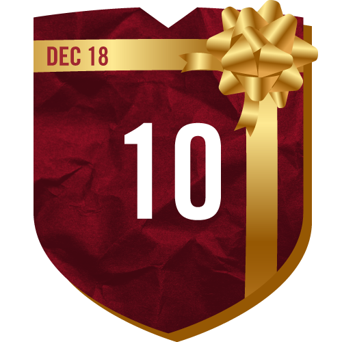 Day 10 of TFC Holiday Prizing