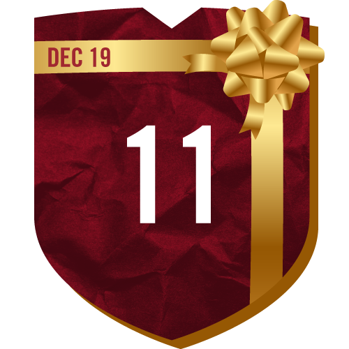 Day 11 of TFC Holiday Prizing