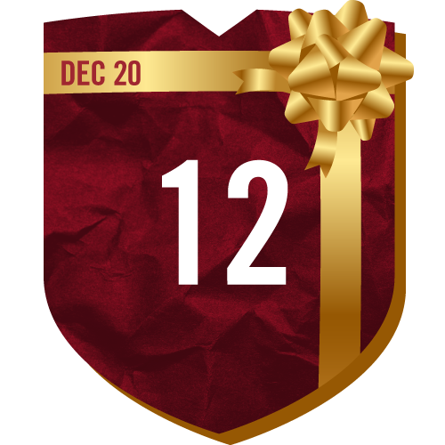 Day 12 of TFC Holiday Prizing