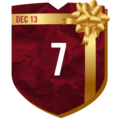 Day 7 of TFC Holiday Prizing