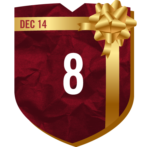 Day 8 of TFC Holiday Prizing